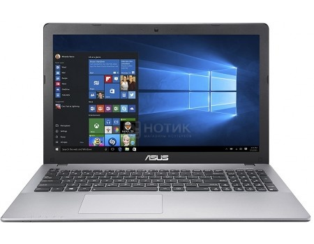 Фотография товара ноутбук ASUS K550VX-DM408D (15.6 TN (LED)/ Core i5 6300HQ 2300MHz/ 4096Mb/ HDD+SSD 500Gb/ NVIDIA GeForce® GTX 950M 2048Mb) Free DOS [90NB0BB1-M10770] (54860)
