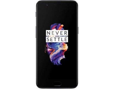 Смартфон OnePlus 5 64Gb Slate Gray (Android 7.1 (Nougat)/MSM8998 2450MHz/5.5* 1920x1080/6144Mb/64Gb/4G LTE ) [5011100019], арт: 54894 - OnePlus