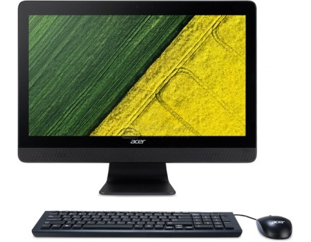 Моноблок Acer Aspire C20-220 (19.5 TN (LED)/ A6-Series A6-7310 2000MHz/ 4096Mb/ HDD 500Gb/ AMD Radeon R4 series 64Mb) MS Windows 10 Home (64-bit) [DQ.B7SER.003]