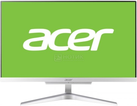 Моноблок Acer Aspire C22-860 (21.5 IPS (LED)/ Pentium Dual Core 4405U 2100MHz/ 4096Mb/ HDD 500Gb/ Intel HD Graphics 510 64Mb) Free DOS [DQ.BAVER.004]