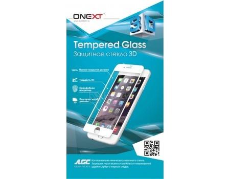 Фотография товара защитное стекло ONEXT для смартфона Apple iPhone X, 3D, Белый 41391 (54977)
