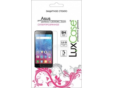 Защитное стекло LuxCase для смартфона ASUS ZenFone 3 Zoom ZE553KL, 82292
