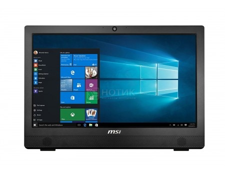 Моноблок AIO MSI Pro 24T 4BW-019RU (23.6 TN (LED)/ Celeron Quad Core N3160 1600MHz/ 4096Mb/ HDD 1000Gb/ Intel HD Graphics 400 64Mb) Без ОС [9S6-AE9211-019]