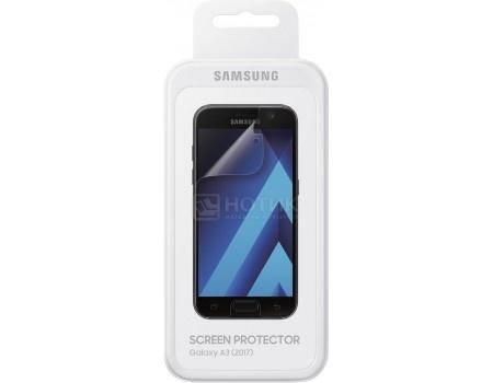 Фотография товара защитная пленка Samsung для смартфона Samsung Galaxy A3 (2017) (прозрачная) ET-FA320CTEGRU (55205)