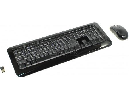 Комплект беспроводной клавиатура мышь Microsoft Wireless Desktop 850, USB, Черный PY9-00012, арт: 55226 - Microsoft