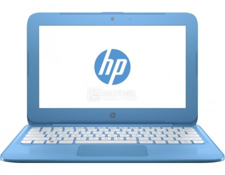 Ноутбук HP Stream 11-y008ur (11.6 TN (LED)/ Celeron Dual Core N3060 1600MHz/ 2048Mb/ SSD / Intel HD Graphics 400 64Mb) MS Windows 10 Home (64-bit) [2EQ22EA]