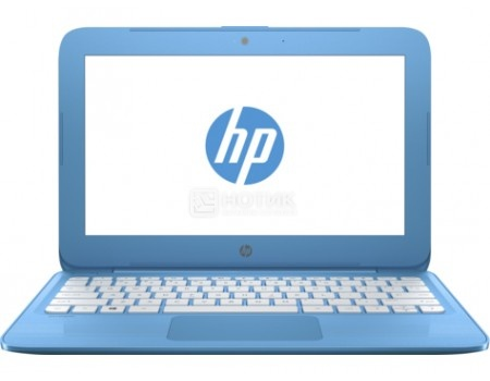 Фотография товара ноутбук HP Stream 11-y011ur (11.6 TN (LED)/ Celeron Dual Core N3060 1600MHz/ 4096Mb/ SSD / Intel HD Graphics 400 64Mb) MS Windows 10 Home (64-bit) [2EQ25EA] (55258)