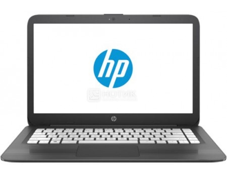 Фотография товара ноутбук HP Stream 14-ax018ur (14.0 TN (LED)/ Celeron Dual Core N3060 1600MHz/ 4096Mb/ SSD / Intel HD Graphics 400 64Mb) MS Windows 10 Home (64-bit) [2EQ35EA] (55278)