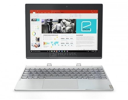 "Фотография товара планшет Lenovo Miix 320-10 (MS Windows 10 Professional (64-bit)/Z8350 1440MHz/10.1"" 1920x1200/4096Mb/128Gb/4G LTE ) [80XF004WRK] (55306)"