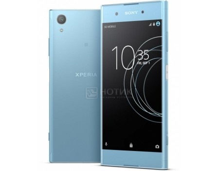 Смартфон Sony Xperia XA1 Plus Dual Blue (Android 7.0 (Nougat)/MT6757 2300MHz/5.5* 1920x1080/4096Mb/32Gb/4G LTE ) [G3412Blue], арт: 55336 - Sony
