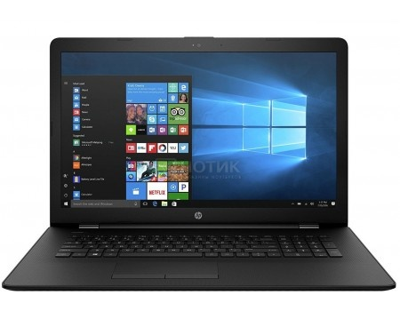 Ноутбук HP 17-ak075ur (17.3 TN (LED)/ A9-Series A9-9420 3000MHz/ 4096Mb/ HDD 500Gb/ AMD Radeon R5 series 64Mb) MS Windows 10 Home (64-bit) [2PW10EA]