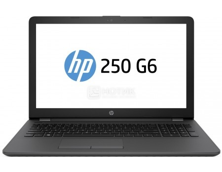 Ноутбук HP 250 G6 (15.6 TN (LED)/ Celeron Dual Core N3350 1100MHz/ 4096Mb/ HDD 1000Gb/ Intel HD Graphics 500 64Mb) Free DOS [2SX61EA]