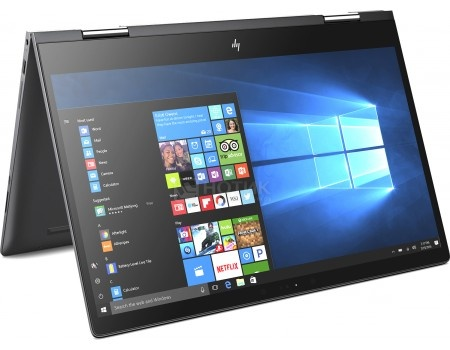 Фотография товара ноутбук HP Envy x360 15-bq102ur (15.6 IPS (LED)/ Ryzen 5 2500U 2000MHz/ 8192Mb/ SSD / AMD Radeon Vega 8 Graphics 64Mb) MS Windows 10 Home (64-bit) [2PP62EA] (55447)
