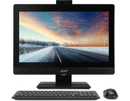 Моноблок Acer Veriton Z4640G (21.5 TN (LED)/ Celeron Dual Core G3930 2900MHz/ 4096Mb/ HDD 500Gb/ Intel HD Graphics 610 64Mb) Free DOS [DQ.VPGER.058]