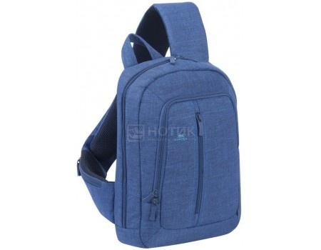 """Фотография товара рюкзак 13,3"""" RivaCase 7529 blue, Полиэстер, Синий (55591)"""