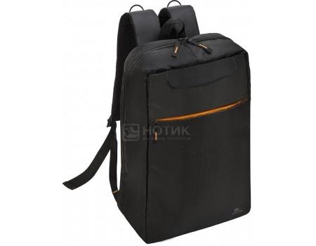 """Фотография товара рюкзак 17,3"""" RivaCase 8060 black, Полиэстер, Черный (55593)"""