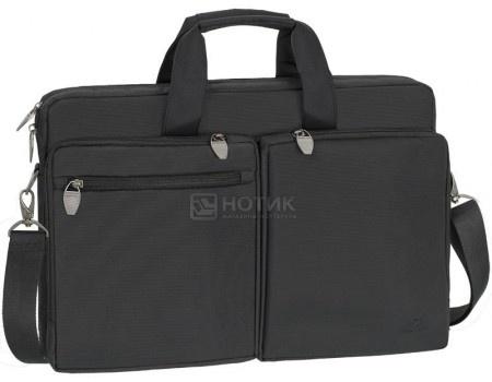 """Фотография товара сумка 17,3"""" RivaCase 8550 black, Полиэстер, Черный (55600)"""