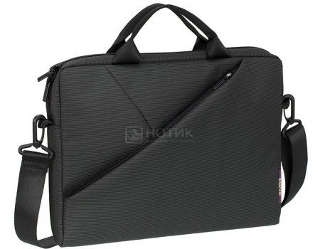 """Фотография товара сумка 13,3"""" RivaCase 8720 grey, Полиэстер, Серый (55601)"""