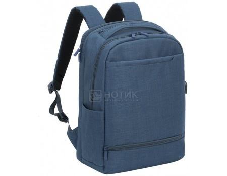 """Фотография товара рюкзак 17,3"""" RivaCase 8365 blue, Полиэстер, Синий (55604)"""