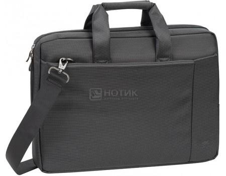 """Фотография товара сумка 15,6"""" RivaCase 8231 black, Полиэстер, Черный (55605)"""