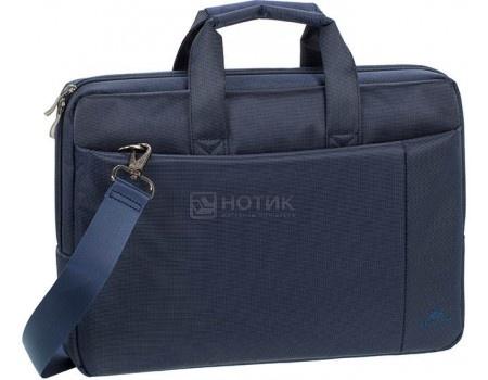 """Фотография товара сумка 15,6"""" RivaCase 8231 blue, Полиэстер, Синий (55606)"""
