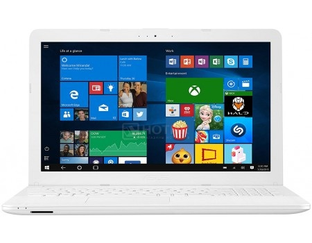 Фотография товара ноутбук ASUS VivoBook Max X541UV-DM1402T (15.6 TN (LED)/ Core i5 7200U 2500MHz/ 4096Mb/ HDD 500Gb/ NVIDIA GeForce GT 920MX 2048Mb) MS Windows 10 Home (64-bit) [90NB0CG2-M20460] (55632)
