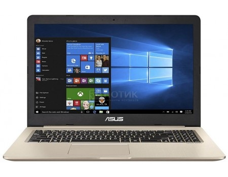 Ноутбук ASUS VivoBook Pro 15 N580VD-DM129T (15.6 TN (LED)/ Core i7 7700HQ 2800MHz/ 8192Mb/ HDD+SSD 1000Gb/ NVIDIA GeForce® GTX 1050 2048Mb) MS Windows 10 Home (64-bit) [90NB0FL1-M08720]