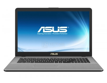 Фотография товара ноутбук ASUS VivoBook Pro 17 N705UD-GC174 (17.3 IPS (LED)/ Core i7 8550U 1800MHz/ 16384Mb/ HDD 1000Gb/ NVIDIA GeForce® GTX 1050 2048Mb) Endless OS [90NB0GA1-M02570] (55635)