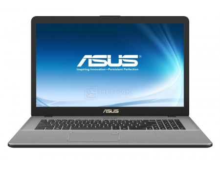 Ноутбук ASUS VivoBook Pro 17 N705UN-GC023T (17.3 IPS (LED)/ Core i5 7200U 2500MHz/ 8192Mb/ HDD 1000Gb/ NVIDIA GeForce® MX150 2048Mb) MS Windows 10 Home (64-bit) [90NB0GV1-M00230]