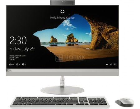 Фотография товара моноблок Lenovo IdeaCentre 520-27 (27.0 TN (LED)/ Core i3 7100T 3400MHz/ 4096Mb/ HDD 1000Gb/ NVIDIA GeForce GT 940MX 2048Mb) MS Windows 10 Home (64-bit) [F0D0000GRK] (55739)