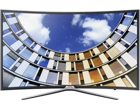Телевизор Samsung 49 UE49M6503AU LED, FHD, Smart TV, CMR 900, Изогнутый экран, Темно-серый (Титан)