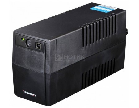 ИБП Ippon Back Basic 650 360Вт 650ВА , Черный 337477