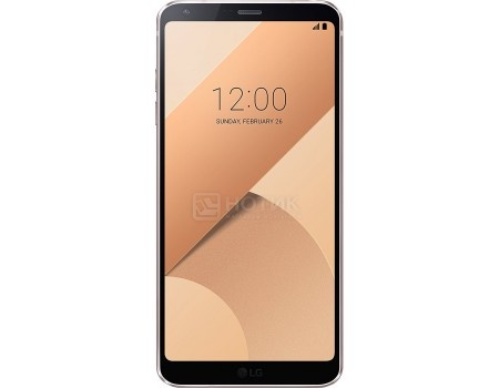Смартфон LG G6 H870 32Gb Gold (Android 7.0 (Nougat)/MSM8996 2350MHz/5.7* 2880x1440/4096Mb/32Gb/4G LTE ) [LGH870S.ACISGD], арт: 55768 - LG