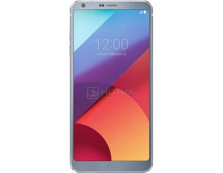 "Фотография товара смартфон LG G6 H870 32Gb Platinum (Android 7.0 (Nougat)/MSM8996 2350MHz/5.7"" 2880x1440/4096Mb/32Gb/4G LTE ) [LGH870S.ACISPL] (55769)"