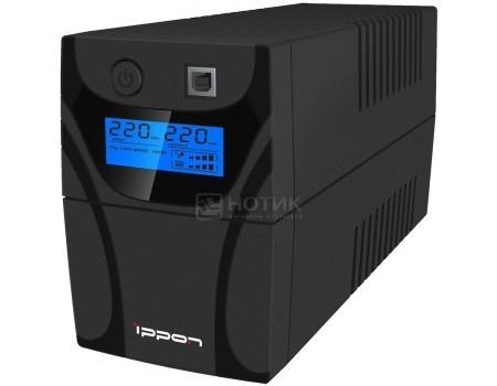 ИБП Ippon Back Power Pro LCD 500 300Вт 500ВА , Черный 353901