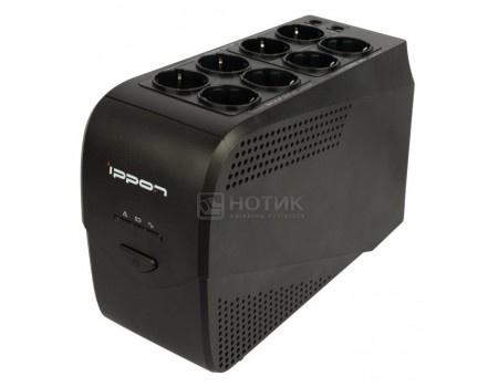 Картинка для ИБП Ippon Back Comfo Pro New 600 360Вт 600ВА , Черный 632582