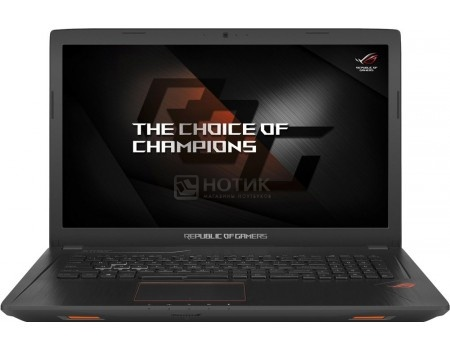 Фотография товара ноутбук ASUS ROG GL753VE-GC152T (17.3 IPS (LED)/ Core i7 7700HQ 2800MHz/ 8192Mb/ HDD+SSD 2000Gb/ NVIDIA GeForce® GTX 1050Ti 4096Mb) MS Windows 10 Home (64-bit) [90NB0DN2-M02310] (55860)