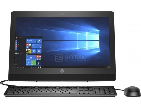 Моноблок HP ProOne 400 G3 (20.0 TN (LED)/ Core i3 7100T 3400MHz/ 4096Mb/ HDD 500Gb/ Intel HD Graphics 630 64Mb) MS Windows 10 Professional (64-bit) [2KL24EA]