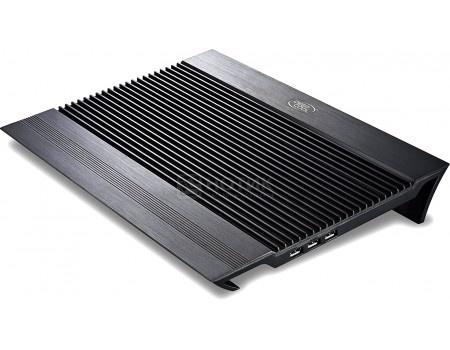 """Подставка для ноутбука 17"""" DeepCool N8, 4xUSB 2.0, 2xВентилятора 140мм, Серебристый, арт: 55880 - DeepCool"""