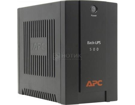 Фотография товара иБП APC Back-UPS 500 300Вт 500ВА, Черный BX500CI (55902)