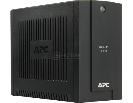 ИБП APC Back-UPS 650 360Вт 650ВА, Черный BC650I-RSX, арт: 55903 - APC