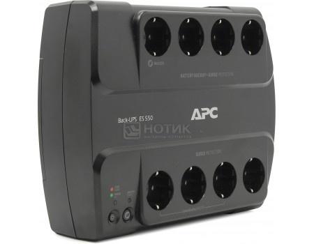 Фотография товара иБП APC Back-UPS ES 550 330Вт 550ВА, Черный BE550G-RS (55907)