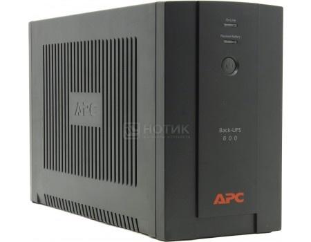 Картинка для ИБП APC Back-UPS 800 480Вт 800ВА, Черный BX800CI-RS