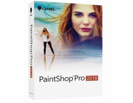 Электронная лицензия Corel PaintShop Pro 2018 ESD ML Global, ESDPSP2018ML (Многоязычный)