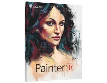 Электронная лицензия Corel Painter 2018 Multilingual, ESDPTR2018ML (Многоязычный)