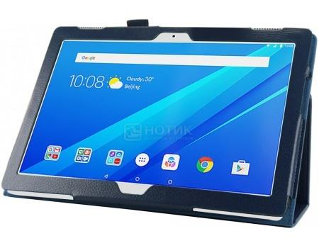 Фотография товара чехол-подставка IT Baggage для планшета Lenovo Tab 3 10 / Tab 4 10, TB-X103F, Искусственная кожа, Синий ITLNT4130-4 (55952)