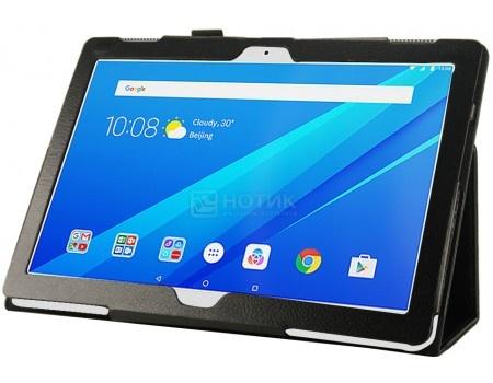 Фотография товара чехол-подставка IT Baggage для планшета Lenovo Tab 3 10 / Tab 4 10, TB-X103F, Искусственная кожа, Черный ITLNT4130-1 (55953)