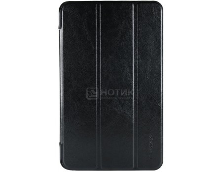 Фотография товара чехол-подставка IT Baggage для планшета Samsung Galaxy TAB A (2017) 8, SM-T385, Искусственная кожа, Черный ITSSGTA385-1 (55954)