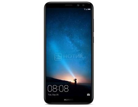 Смартфон Huawei Nova 2i 64Gb Graphite Black (Android 7.0 (Nougat)/Kirin 659 2360MHz/5.9* 1920x1080/4096Mb/64Gb/4G LTE ) [6901443205288], арт: 55966 - Huawei