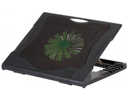 """Фотография товара подставка для ноутбука 17"""" RivaCase 5579, 2xUSB 2.0, 1xВентилятор 160мм, Черный RIVACASE 5579 (55990)"""